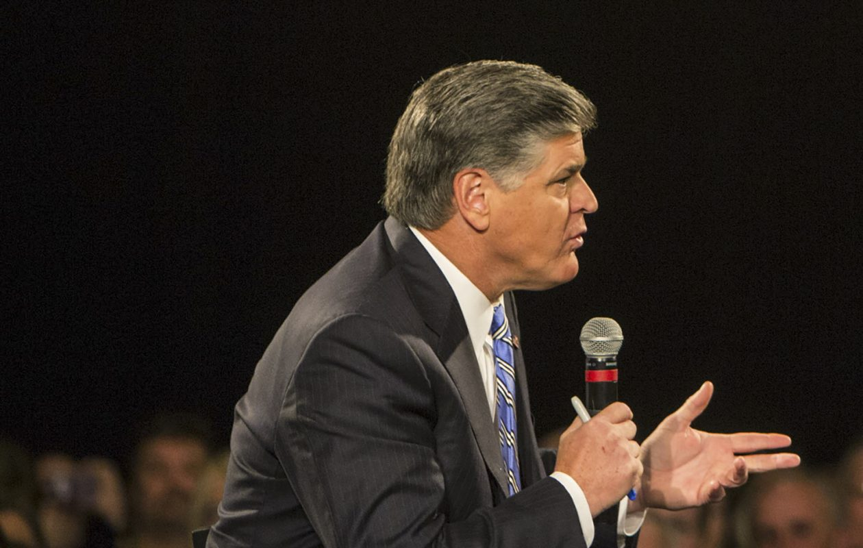 Sean Hannity and the rest of the Fox News lineup is still No. 1 locally, but has taken a ratings hit in the past year. (Joe Buglewicz/The New York Times)