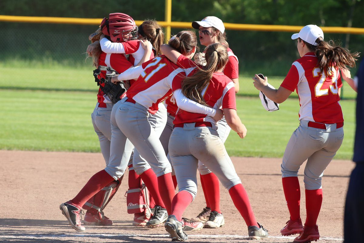 Williamsville East softball did a lot of celebrating during the spring season. (James P. McCoy/Buffalo News)