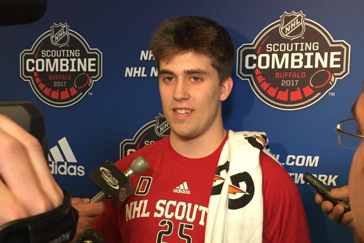 Rochester's Farrance tops list of WNYers hoping to hear name at NHL Draft