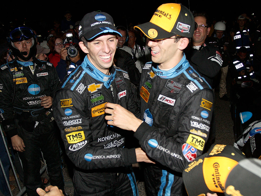 Ricky (left) and Jordan Taylor head to Watkins Glen undefeated. (Getty Images)