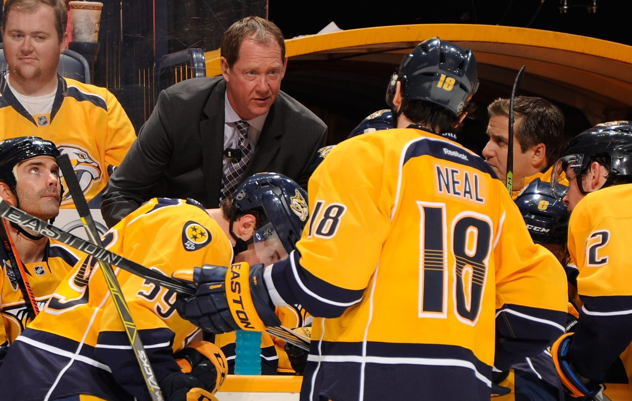 Phil Housley's success as a player got the attention of Nashville's skaters. (Getty Images)