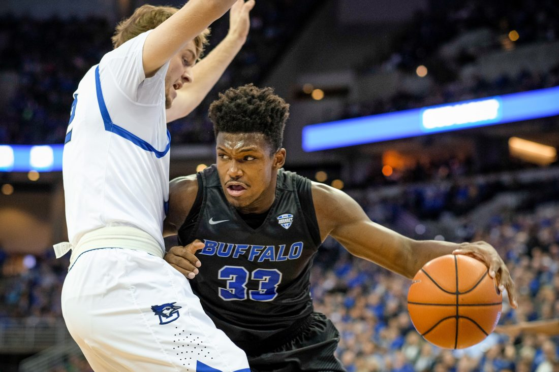 UB junior Nick Perkins. (Getty Images)