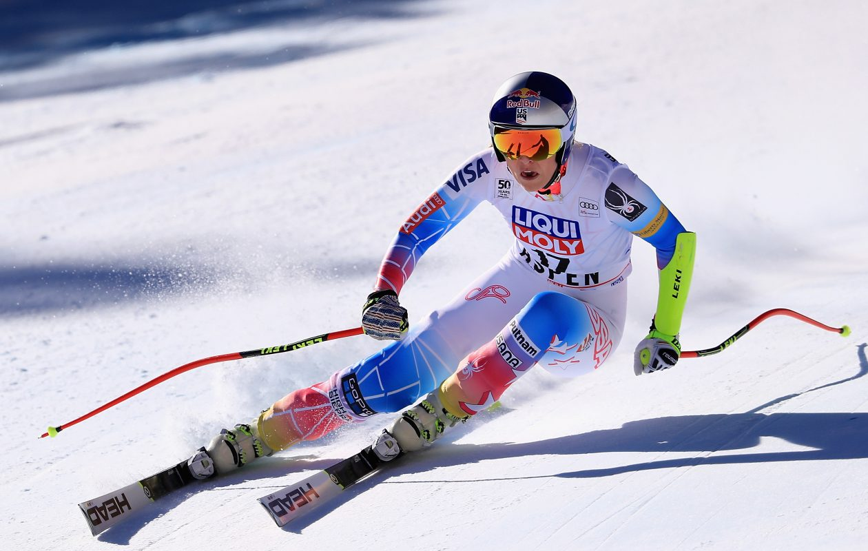 Lindsey Vonn wants to enter the  men's World Cup race in November 2018. (Photo by Sean M. Haffey/Getty Images)