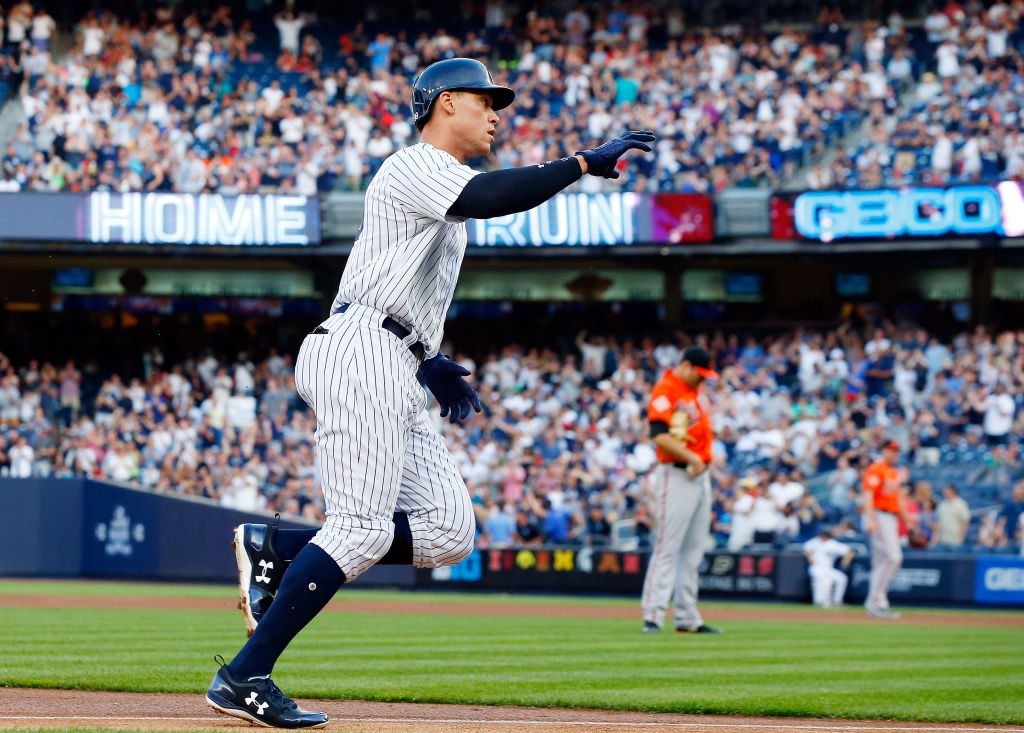 Judge, Yankees batter Orioles 16-3 for 4th straight win
