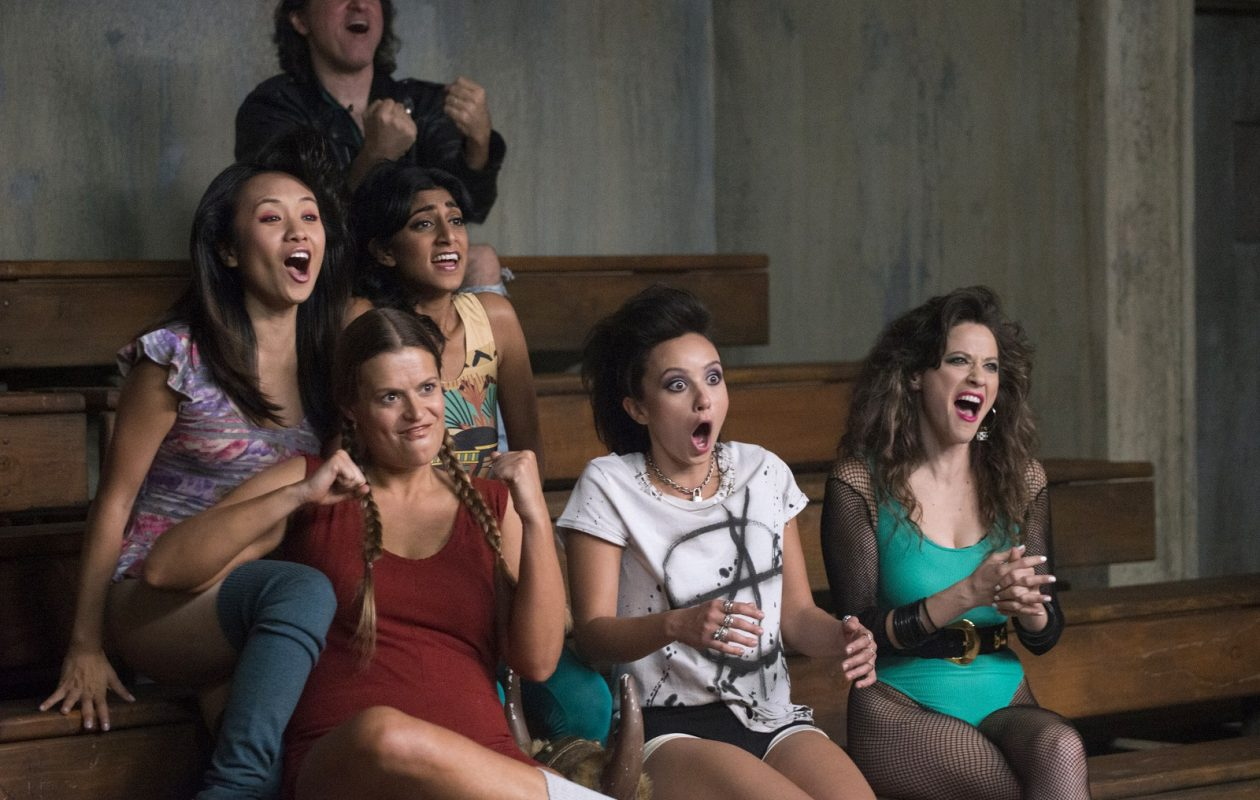 "The cast of the new Netflix series, ""GLOW."" (Erica Parise, Netflix)"