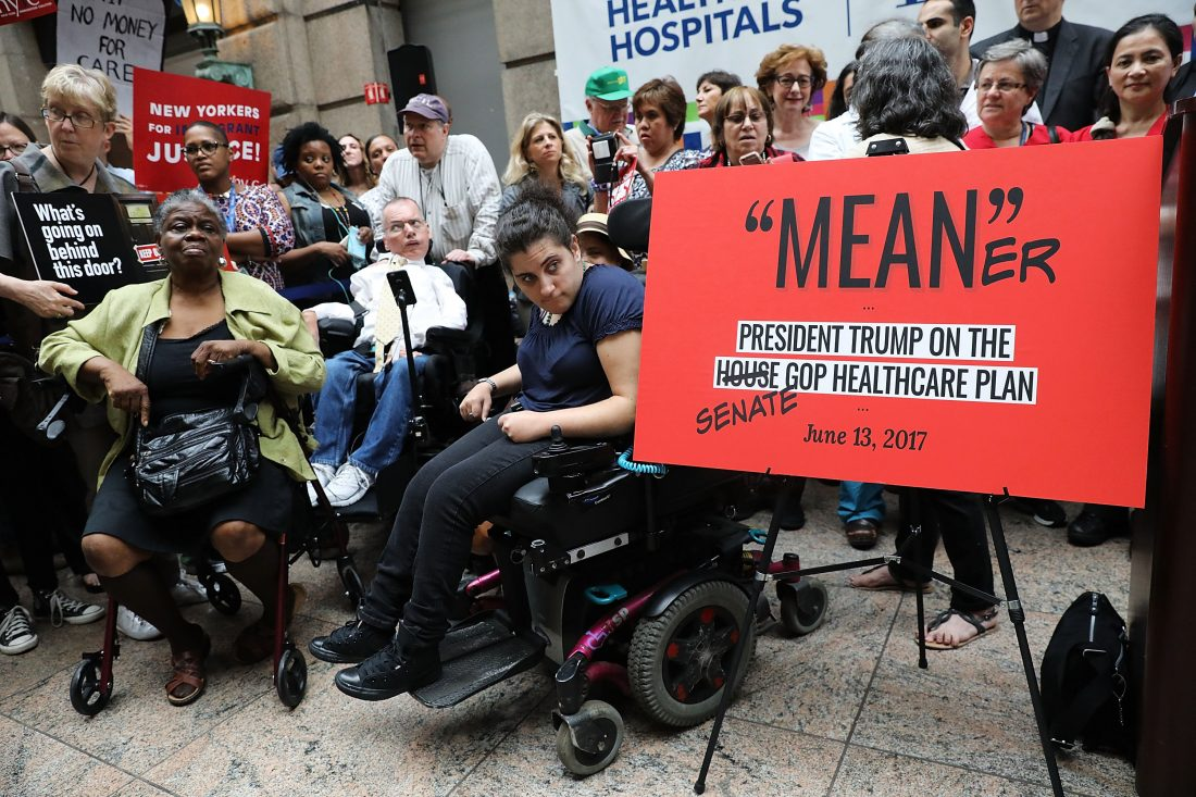 Senate Healthcare Bill Makes Major Cuts to Medicaid