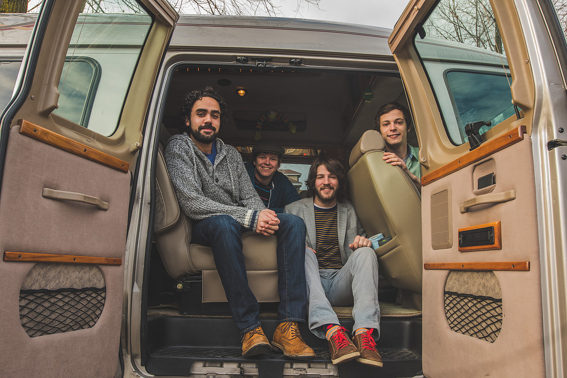 Intrepid Travelers return to perform at the Canalside Afterparty at Lockhouse Distillery.