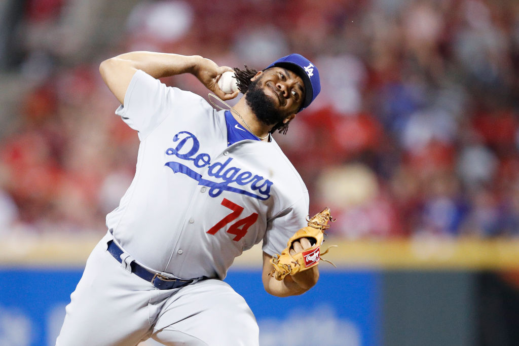 Dodgers closer Kenley Jansen is almost unhittable (Getty Images).