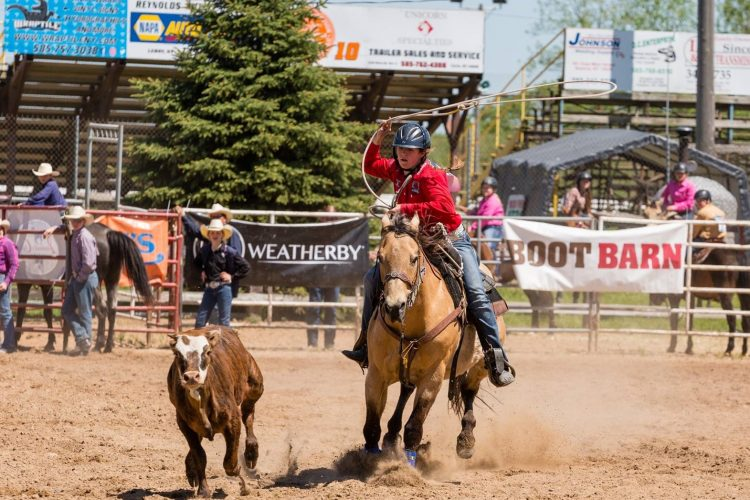 Lew-Port's Michaila Raby hopes to rope a rodeo scholarship