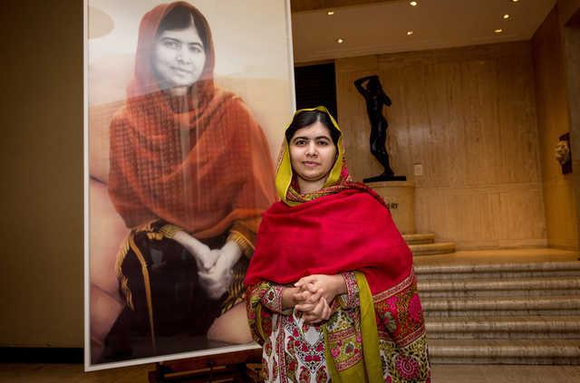 Muskan Virk was inspired to write her book by Malala Yousafzai, above, a Pakistani activist and youngest-ever Nobel Prize laureate nearly killed for her advocacy of female education in her homeland. (Getty Images)