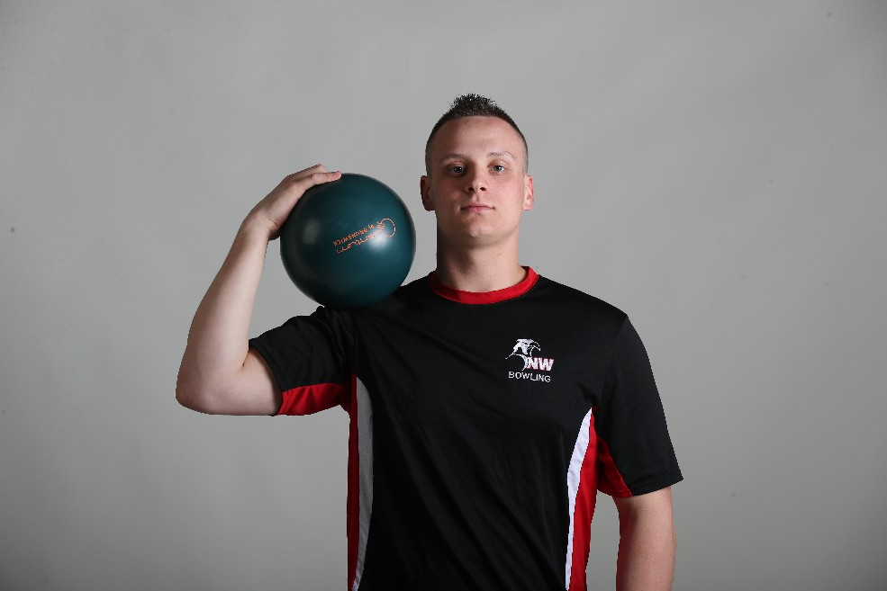 The Prep Talk Player of the Year in boys bowling is Nate Maloney of Niagara Wheatfield (James P. McCoy / Buffalo News)