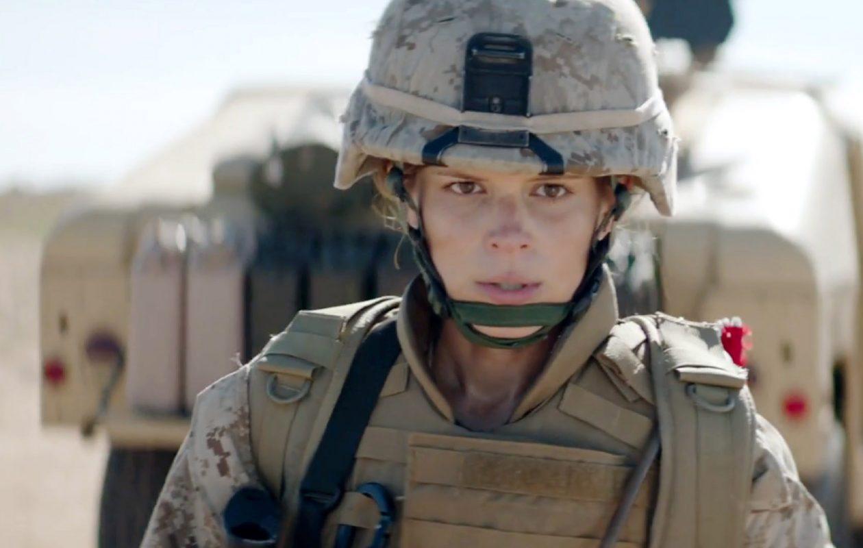 "Kate Mara is ""Megan Leavey."""