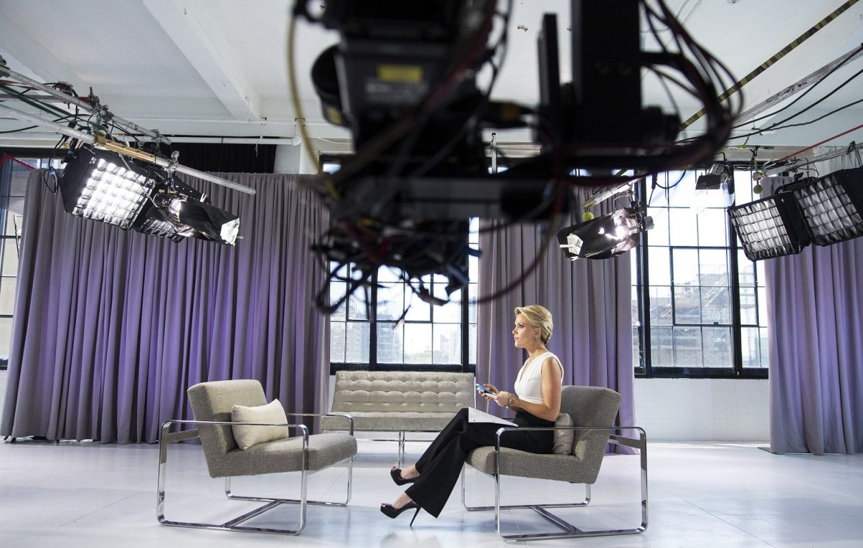 Megyn Kelly's interview with Infowars conspiracy theorist Alex Jones Sunday on NBC went better than some of her critics had predicted.(Damon Winter/The New York Times)
