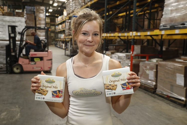 Orchard Park native's granola company works in healthy, generous ways