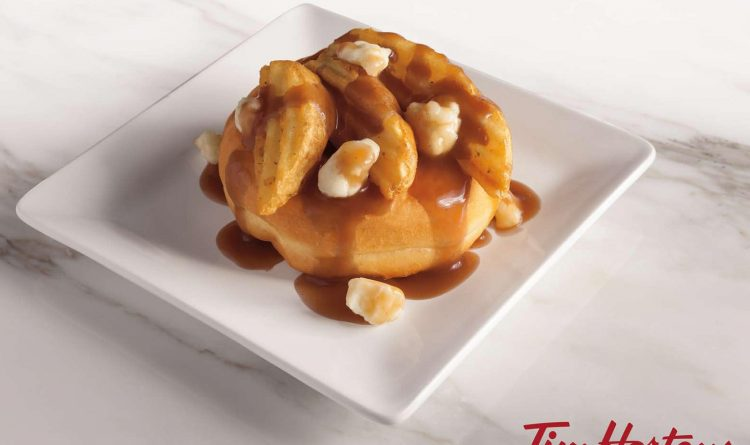Would you eat this? Three local Tim Hortons to offer Poutine Donut