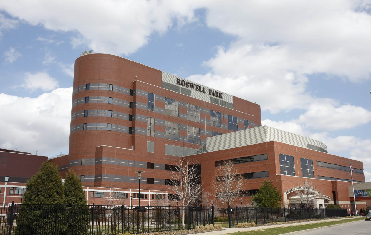 Roswell Park Cancer Center reports that taking a multivitamin before and during breast cancer treatment may prevent neuropathy that often can come with chemotherapy.  (Derek Gee/Buffalo News file photo)