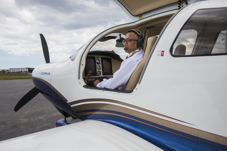 Clarence retiree's solo flight around globe is a mission of mercy