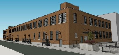 Ontario Specialty Contracting plans to redevelop an old industrial site on Elk Street. (Planning Board)