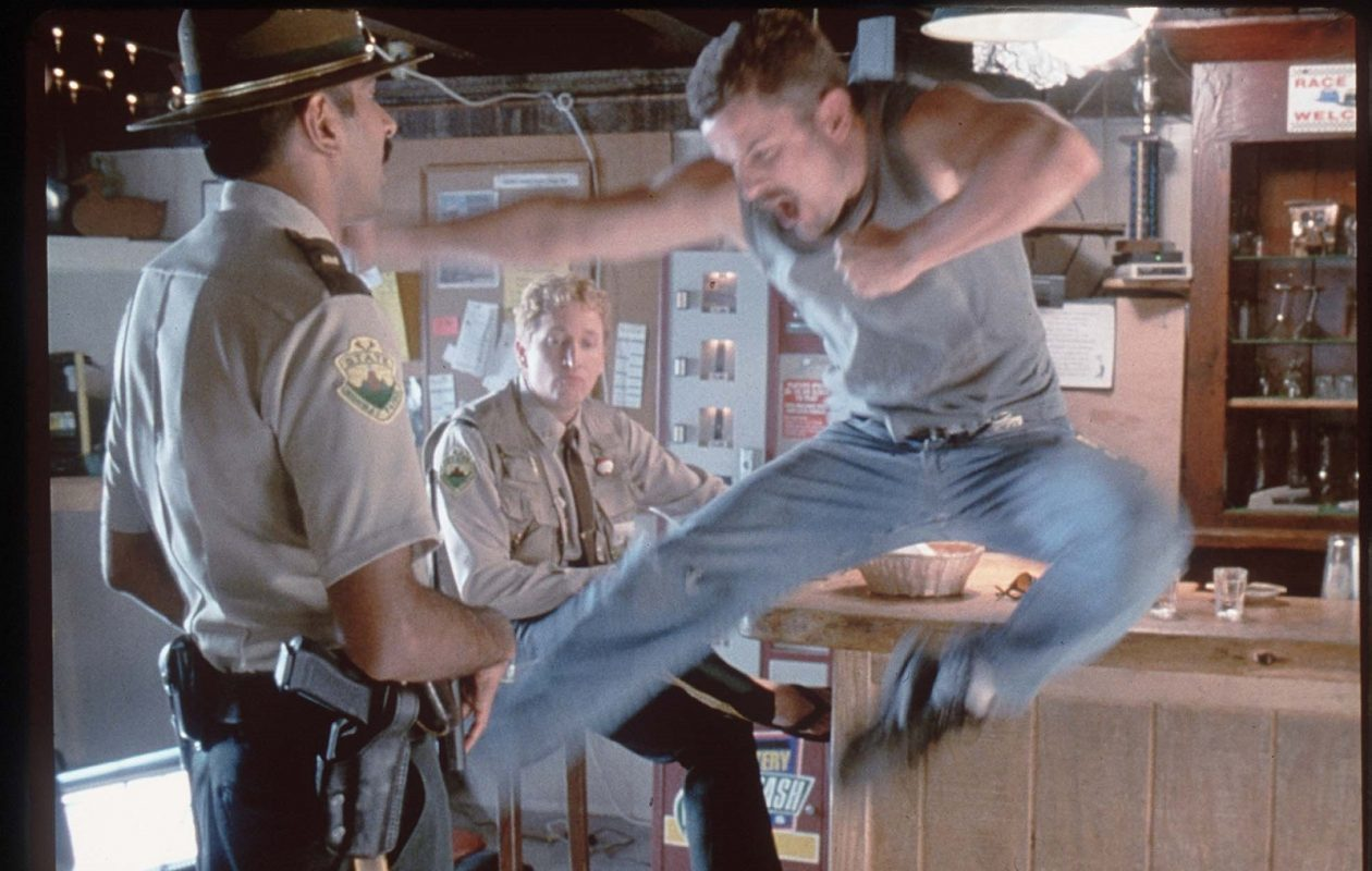 A scene from the cult classic 'Super Troopers.' (News file photo)