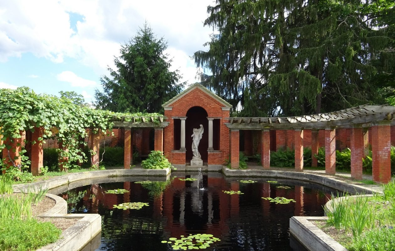 The Vanderbilt Mansion is one compelling stop on a visit to the Hudson Valley region.
