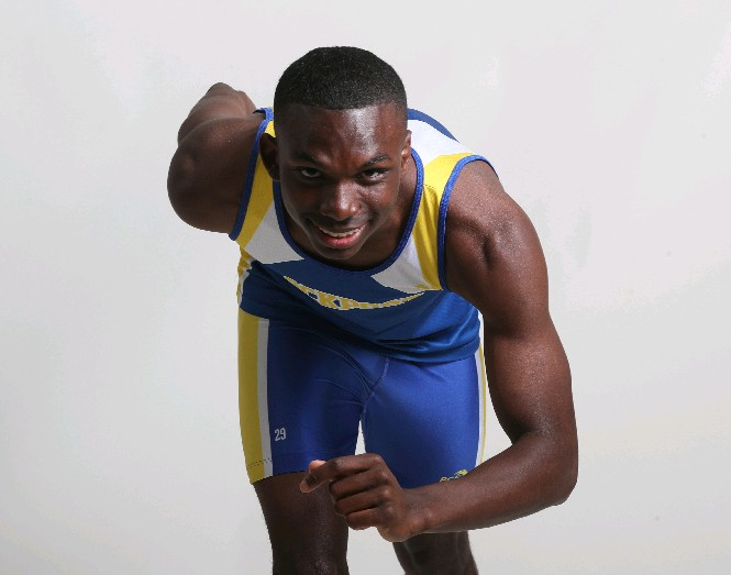 The Prep Talk Player of the Year for boys indoor track is Treston White of Lockport (James P. McCoy / Buffalo News)