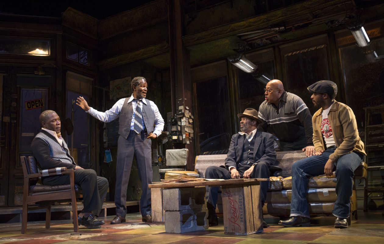 """The Broadway production of """"Jitney,"""" directed by Lackawanna native Ruben Santiago-Hudson, won a 2017 Tony Award for best revival of a play. (Photo courtesy of Joan Marcus.)"""