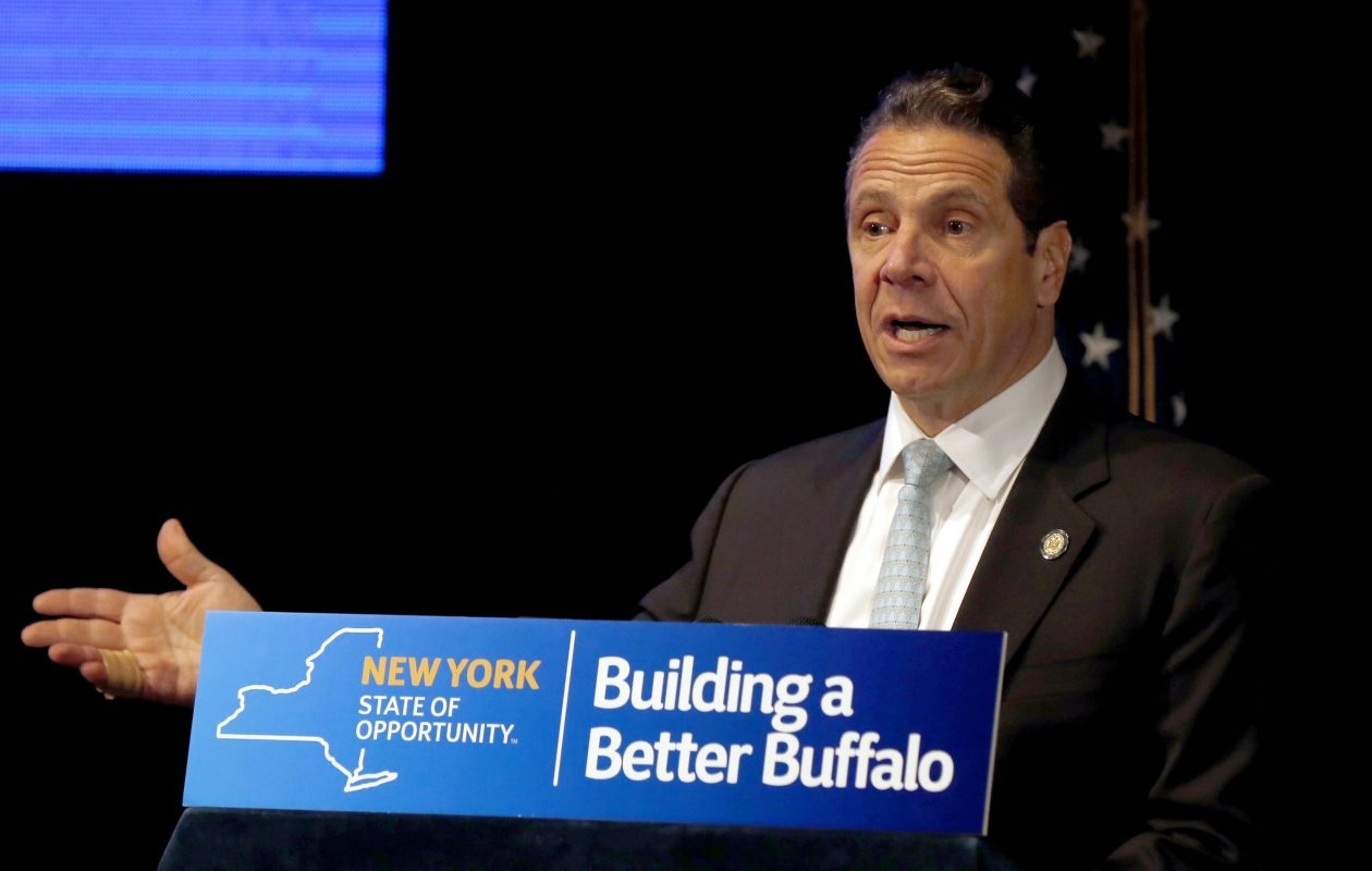 Gov. Cuomo's budget proposal didn't mention the Buffalo Billion.  (Robert Kirkham/News file photo)