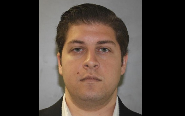 Gregg J. Riess, 27, of the Bronx, was arrested in Amherst on Thursday. (Provided by New York State Police)