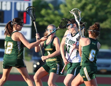 Lake Shore 16, West Seneca 9 in the Section VI Class C Girls Lacrosse Championship.