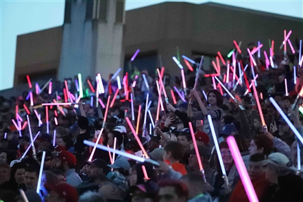 Star Wars night at the Bisons