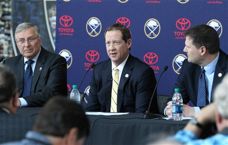 Phil Housley introduced as Sabres' head coach