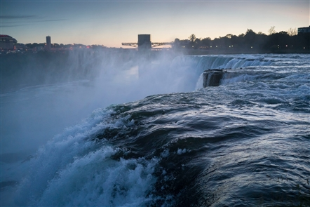 Niagara Falls at dawn