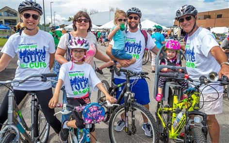Smiles at the Ride for Roswell at UB North