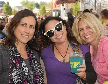 Smiles at Larkin Square's Food Truck Tuesday
