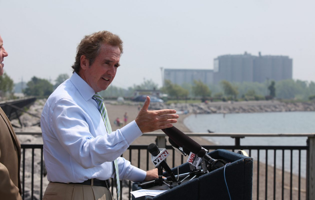 In the wake of President Trump's announceback of a rollback of some Obama policies relating to Cuba, Rep. Brian Higgins  warned against any changes that could endanger ongoing trials at Roswell Park of a lung cancer vaccine developed in Cuba. (News file photo)