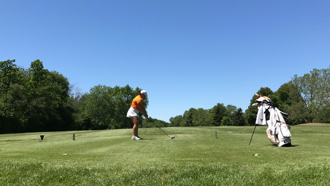 Nichols grad and Texas women's golfer Maren Cipolla returned to competitive action after sitting out eight months due to injury.