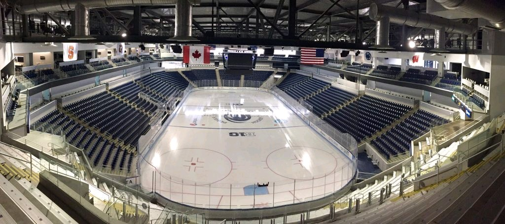 Pegula Ice Arena. (News file)
