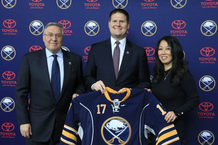 Sabres' Botterill has 'some things in the hopper,' head scout says