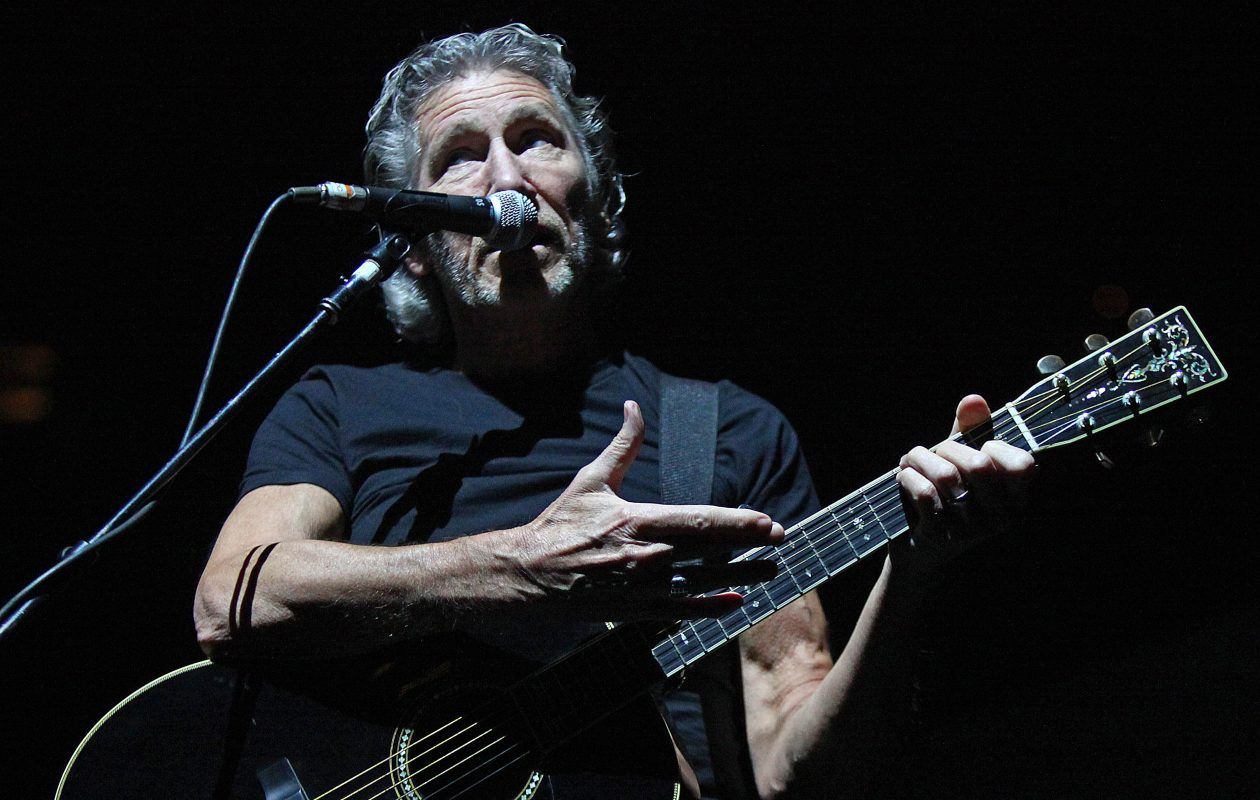 "Roger Waters performs during his ""The Wall – Live"" tour stop at First Niagara Center in June 2012. (Robert Kirkham/Buffalo News file photo)"