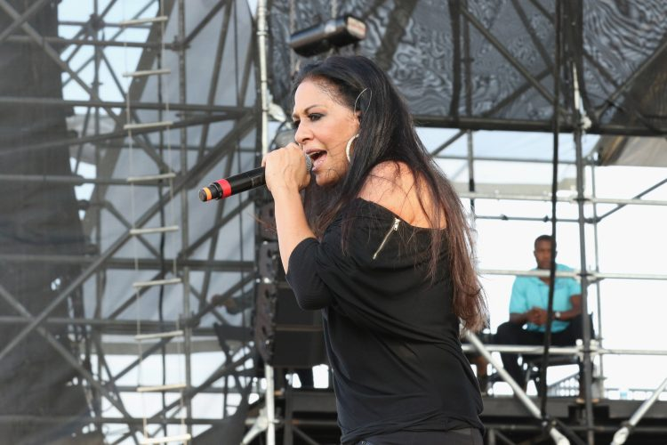 MIAMI GARDENS, FL - MARCH 21: Sheila E. performs onstage at the 10th Annual Jazz in The Gardens: Celebrating 10 Years of Great Music at Sun Life Stadium on March 21, 2015 in Miami Gardens, Florida. (Photo by Aaron Davidson/Getty Images for Jazz in the Gardens)