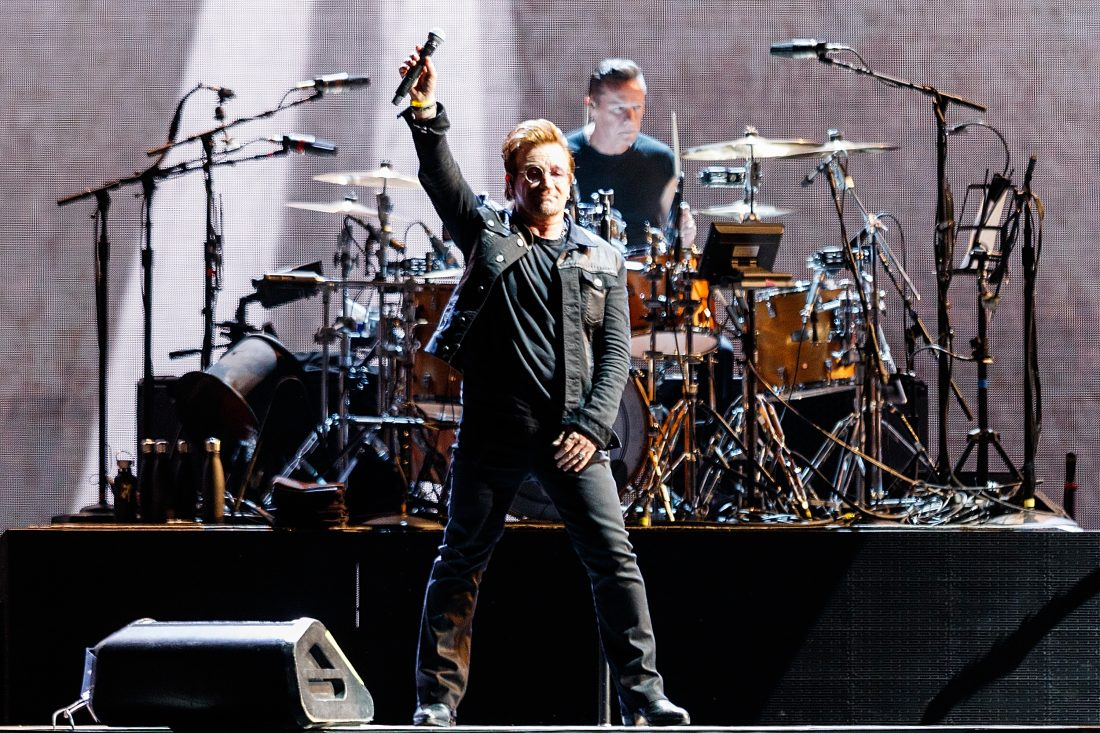 U2 adds fall leg to