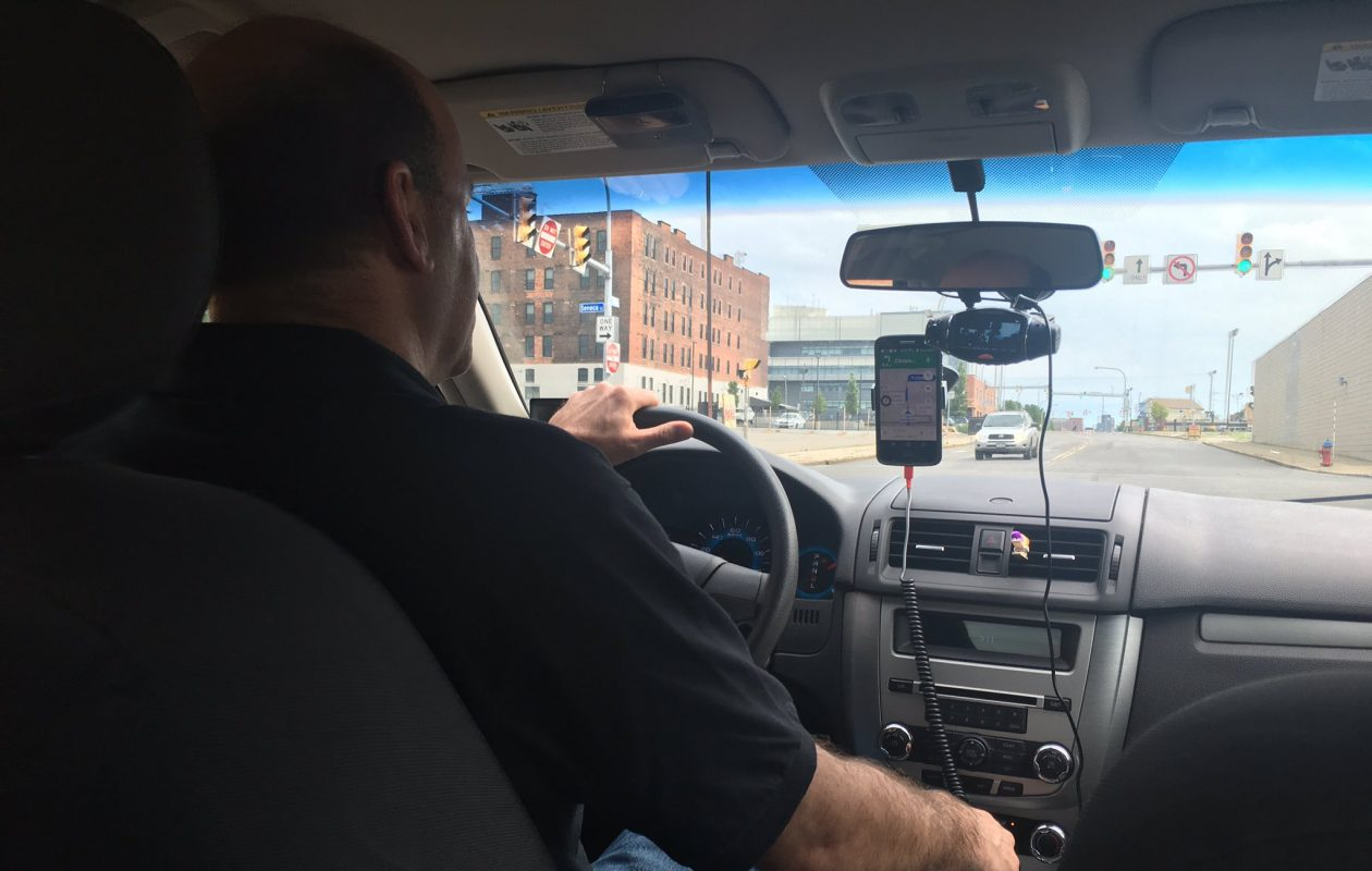 It's not the Uber driver's responsibility to make sure you have everything before you get out of his or her car. (Samantha Christmann/ Buffalo News)