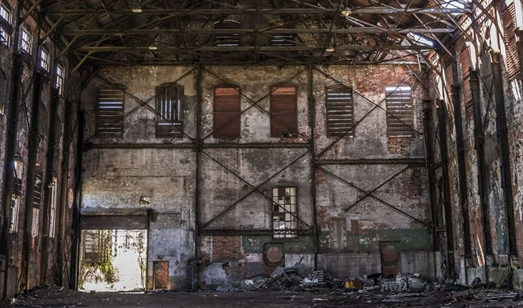 Virtual reality tour: Inside the Bethlehem Steel blown engine house