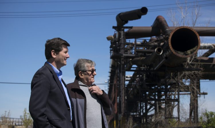 For Poloncarz and his father, Bethlehem Steel is a source of pride