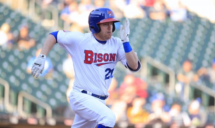 Jake Elmore finally figuring it out for the Bisons