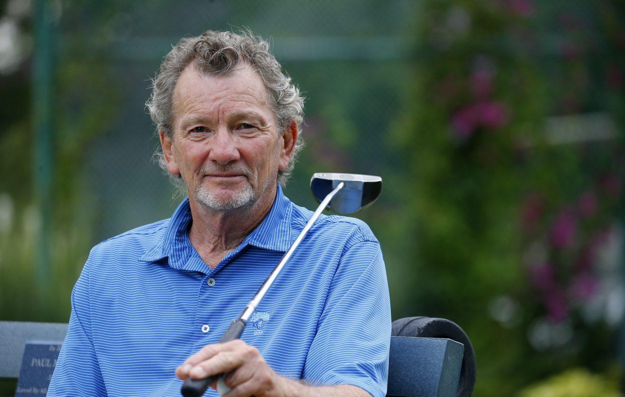 "Jon ""Jaybird"" Benson at the Sheridan Park Golf Course in Tonawanda. (Mark Mulville/Buffalo News)"