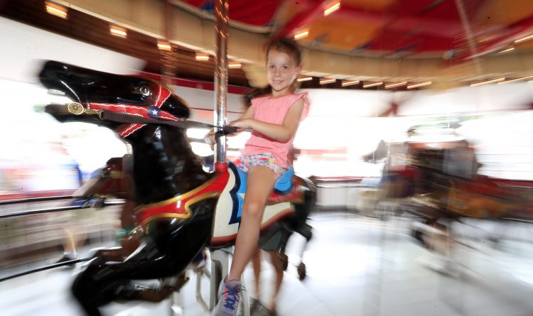 Olcott Beach Carousel Park delights youngsters with joys of yesteryear
