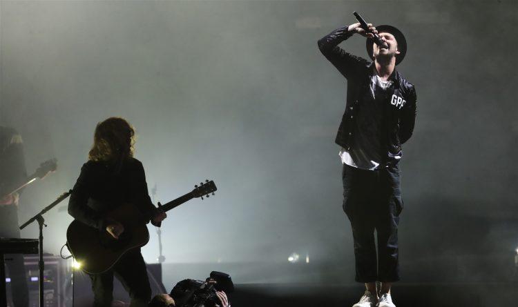 OneRepublic's Ryan Tedder steals the show at Darien Lake