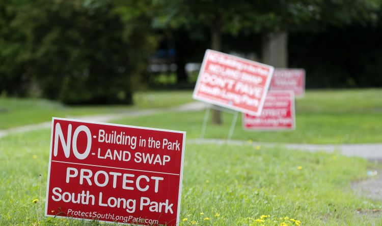Williamsville park swap thrown into doubt by high cost estimate