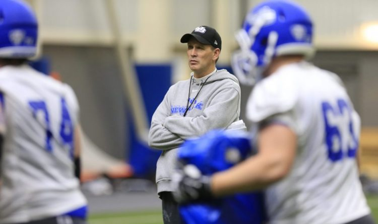 Lance Leipold sees UB football roster foundation gaining strength